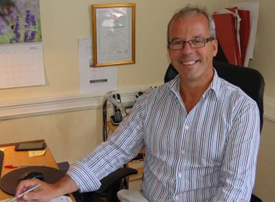 Ian Potter, Director of Grindley Potter Ltd